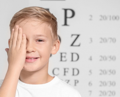 טיפול לעצירת קוצר ראייה אצל ילדים באמצעות אטרופין